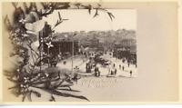 Australie Sydney Vue Vintage Print, Carte De Voeux. Tirage albuminé  10X15