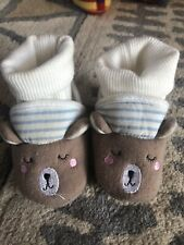 Joules Baby Bear Booties Slippers 6-12 Months