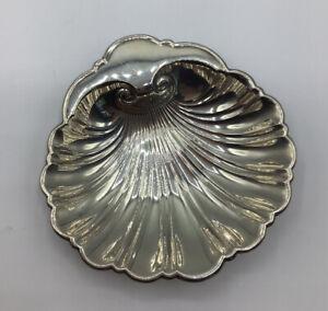 "Vintage - Gorham - Sterling Silver - 5"" Bon Bon Shell Dish"