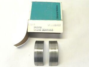 ENGINE BEARINGS LOT OF 6 PIECES CHEVY CHEVROLET BERETTA CORSICA NOS GM# 18008492