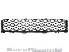 GRILLE PARE-CHOC AVANT CENTRALE NOIR-CHROME FIAT 500 15> SALON MARELLI