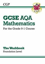 New GCSE Maths AQA Workbook: Foundation - for the Grade 9-1 Course By CGP Books