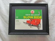 NEW BELGIUM SLOW RIDE BEER SIGN   #1192