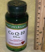 Nature's Bounty Co Q-10 (aka, CoQ10, Co Q10) >>> 175 mg, 60 ct