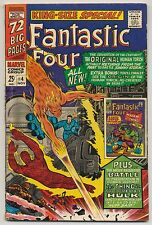 Fantastic Four Annual #4 (1966) Very Good (4.0) ~ Marvel ~ Silver Age