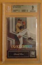 DAVID PRICE Red Sox 2007 Donruss Elite rookie BGS 9 EXTRA EDITION #5 RC Rays