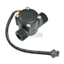 Water flow sensor flowmeter Hall flow sensor Module Water control 1-30L/min top