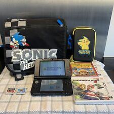 Nintendo 3DS XL In Blue With Great Games, Sonic Bag And Carry Case & Charger