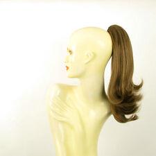 8 Haarteil Pferdeschwanz braun Licht golden 40 cm 8 12