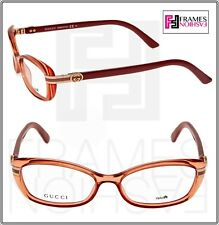 d0b272fc7bc GUCCI 3200 Star Fish Pink Web Oval RX Eyeglasses Optical Frame 52mm GG3200