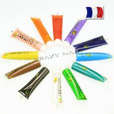 Set de 12 Tubes de Peinture Acrylique Oumaxi Déco Ongles Nail Art Manucure