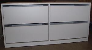 Wardrobe Cabinet Clothes Storage Organiser Insert 4 Drawer W100cm FULLYASSEMBLED