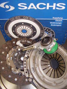 SACHS DUAL MASS FLYWHEEL AND CLUTCH KIT WITH CSC SLAVE BRG FOR SEAT LEON 2.0 TDI