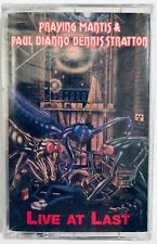 Praying Mantis, Paul DiAnno, Dennis Stratton - Live At Last Cassette Tape Sealed