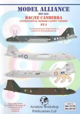 Model Alliance Decals 72139 1:72 BAC/EE Canberra Part 1. Bomber Canopy versions