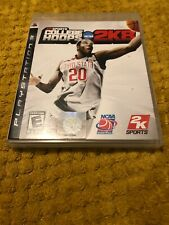 College Hoops 2K8 ps3 RARE