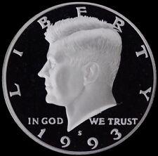 1993 S Kennedy Half Dollar Gem Deep Cameo Clad PROOF US Mint Coin