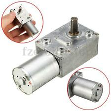 High Torque Electric Power Turbo Worm Geared Motor DC Motor GW370 6V 1rpm
