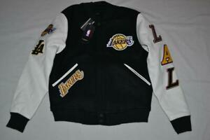 PRO STANDARD LOS ANGELES LAKERS  BLENDED LOGO VARSITY JACKET ALL SIZES NEW