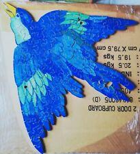 "Zig Zag Figure Vintage Wooden Jigsaw Puzzle ""The Blue Bird"""