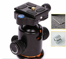 360 Degree Rotate BK-03 Camera Tripod Ball Head with Quick Release Plate