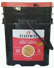Readywise Survival Bucket Ready Wise Emergency Food Supply 124 Servings +4Bonus