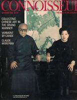 Connoisseur Magazine November 1988 CC Wang Collecting Chinese Art Chu Ta