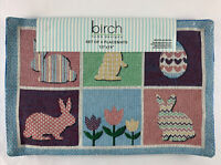"Birch Home Design Easter Bunny  Set of 4 Placemats (13""x19"")"
