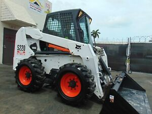 """2004 BOBCAT S220 TURBO 2 SPEED """"HIGH FLOW"""" ICE COLD A/C - ISO JOYSTICK CONTROLS"""