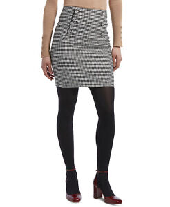 HUE Women's Control Top Luster Tights sz L/XL Large / X-Large (Size 4) Black