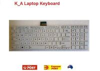 New Toshiba Satellite C850 C850D L850 L850D L870 S850 P850 Laptop Keyboard White