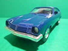 MPC 1974 CHEVROLET VEGA 1/25 MODEL CAR MOUNTAIN PROMO MEDIUM BLUE