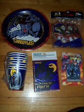 Party Makers 1996 Gargoyles Party Goods Multi-color NOS 7 Pieces