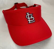 ST LOUIS CARDINALS - Team Red Baseball  Visor Hat Cap..MLB Merchandise