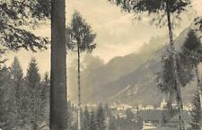 2803) CADORE PANORAMA DI AURONZA ESCURSIONE NAZIONALE ALPINA TOURING CLUB 1914
