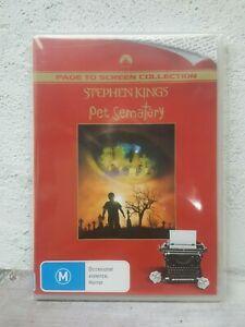 Stephen King Movie PET SEMATARY DVD THRILLER Horror - Region 4