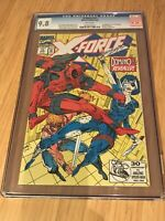 X-Force #11 1st Appearance of (real) Domino CGC 9.8