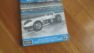 1962 Indy 500 Indianapolis race yearbook F. Clymers annual Rodger Ward wins Offy
