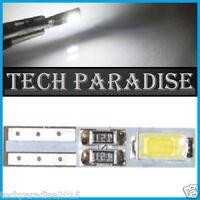 2x Ampoule T5 W1.2W ( B8.3D / B8.5D ) CanBus Anti erreur 2 LED SMD Blanc White