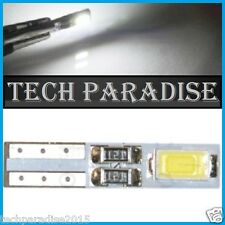 2x Ampoule T5 W1.2W (B8.5D) CanBus Anti erreur 2 LED SMD Blanc White Neo Wedge