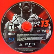 WWE '13 (Sony PlayStation 3, 2012) Disc Only # 14003