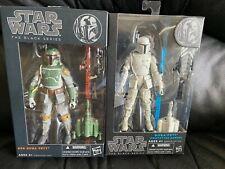 NEW Star Wars The Black Series Orange Line #06 Boba Fett & Blue Prototype Armor
