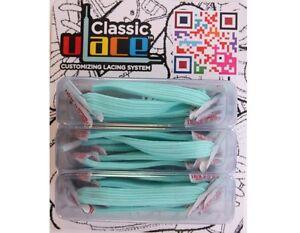 U-Lace Classic Elastische Schnürsenkel ohne Schuhe binden Elastic Laces 18 Stück