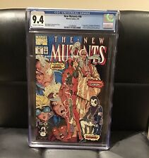 New Mutants #98 CGC 9.4 DEADPOOL OFF WHITE TO WHITE PAGES 2/91 Marvel Comics