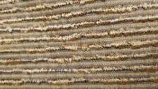 High End Designer Cotton Brown Chenille Upholstery Fabric 1.2Yds