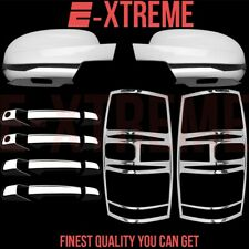 Mirror Taillights For Chevy Tahoe 07-14 Chrome Cover Set 4 Door Handles PSG KH