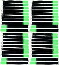 20x cinta de velcro bridas FK 30 cm x 20 mm verde flúor velcro cintas cable cinta de velcro