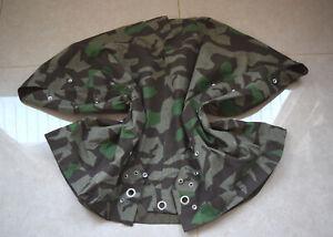 Replica WWII WW2 German Camouflage Splinter tent cloth Poncho