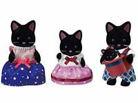 EPOCH Sylvanian Families Doll STARRY SKY CAT FAMILY FS-37 Calico Critters Japan