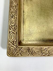 Tiffany Studios Rare Bronze Tray